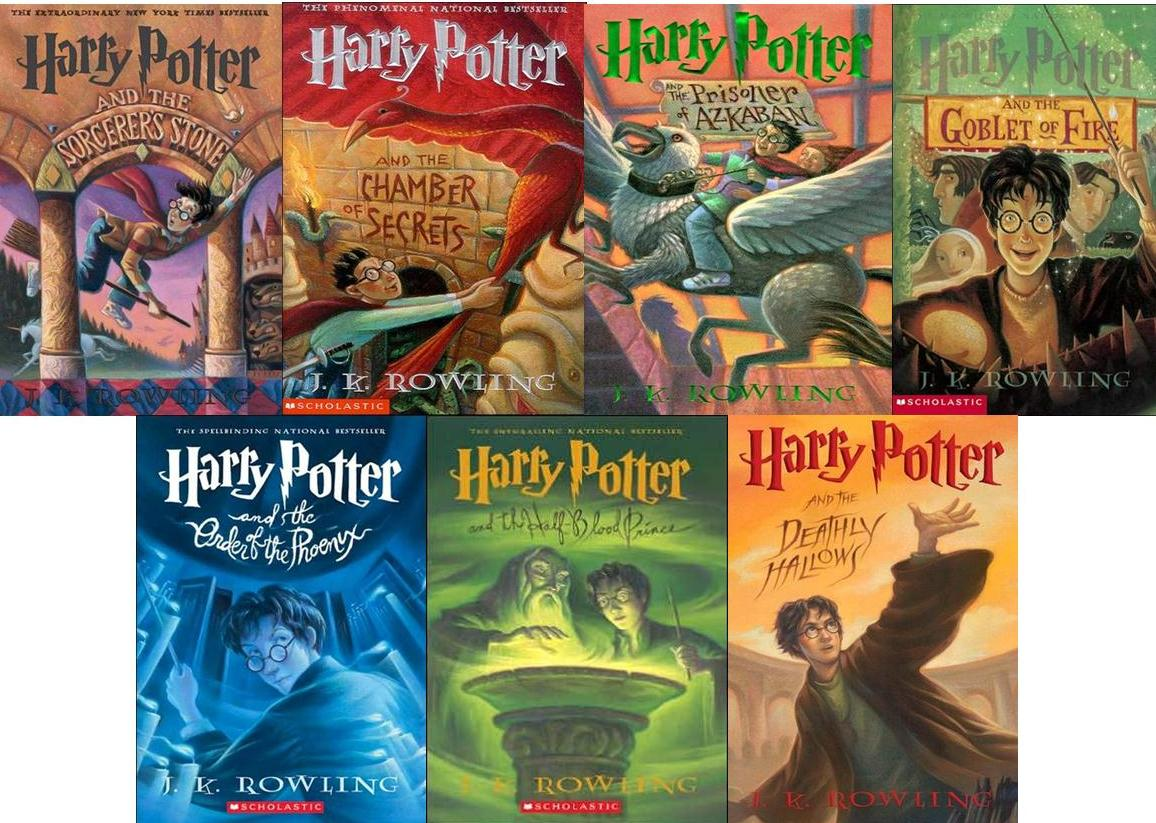Harry Potter Book Cover Us ~ The five best children s book series harry potter